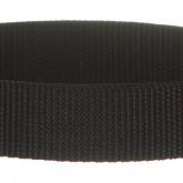 Black 1 Inch PolyPro Polypropylene Webbing