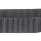 Charcoal Gray 1 Inch PolyPro Polypropylene Webbing