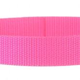 Hot Pink 1 Inch PolyPro Polypropylene Webbing