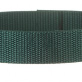 Hunter Green 1 Inch PolyPro Polypropylene Webbing