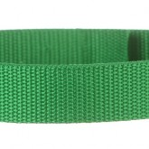 Irish Green 1 Inch PolyPro Polypropylene Webbing