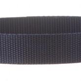Navy Blue 1 Inch PolyPro Polypropylene Webbing