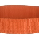 Orange 1 Inch PolyPro Polypropylene Webbing