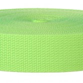 4005M Neon Green 1 1/2 Inch Webbing