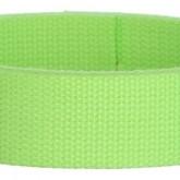 Neon Green 1 1/2 Inch Webbing