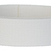 White 1 1/2 Inch Webbing