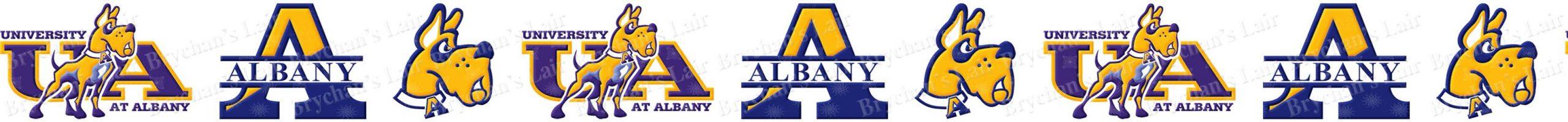 Albany University Great Danes Grosgrain ribbon